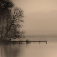 Haze Over Starnberger See  David Henderson