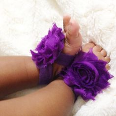 Purple Grape Baby Barefoot Sandals, $7.99 Dress up those little piggies with these adorable baby barefoot sandals! Now available at The Natural Hair Shop! | Natural Hair Care for kids | Go to http://www.naturalhairshop.com/baby-barefoot-sandals/ to shop our entire line! | natural hair | protective styles | detangling | natural hair kids | natural hair information | locs | natural hair inspiration | baby shower gifts |it's a girl | girl baby shower | pregnancy | gift ideas