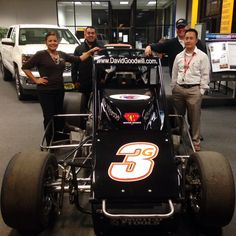 A very cool go-cart entered our showroom, and the Madera team couldn't resist the photo op.