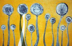 Ice Flowers (Yellow) - Tessa Horrocks
