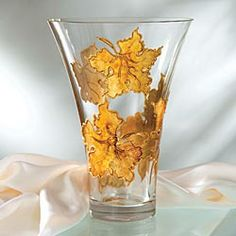 Leaves of Verona Vase  in Late Autumn 2012 from Uno Alla Volta