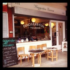 London Living: haggerston Tearooms (courtesy of Lady loves Cake)