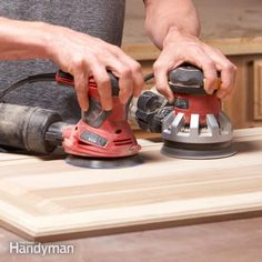 sanding wood can get boring, but you can finish this tedious chore in as much as half the time