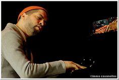 Pianist Jason Moran performing at Nova Jazz Cava, Terrassa, March 14, 2012