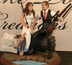 New Hunting Themed Wedding Cake Toppers With Hunting Cake Toppers For Wedding