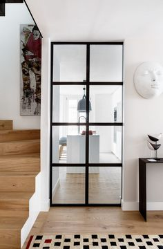 Kitchen Room Design, Home Room Design, House Design, Living Spaces, Living Room, Duplex, Design Studio, Cuisines Design, House Rooms