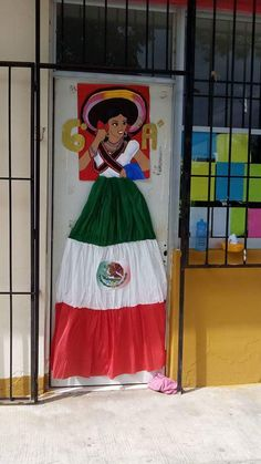 Hispanic History Month, Hispanic Heritage Month, Spanish Classroom Door, Mexico Crafts, Multicultural Classroom, Art For Kids, Crafts For Kids, Mexican Party Decorations, Mexican Fiesta Party