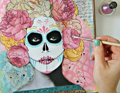 Step by step on how to do this style of mixed media...I'm so excited to do this one!  Art Journaling with Jenny & Aaron