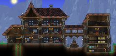 cool terraria houses - Google Search