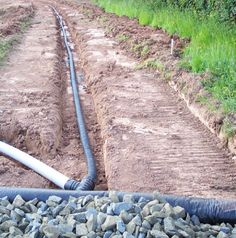 Creating drains for all weather gallops /   Mark Scott Arenas