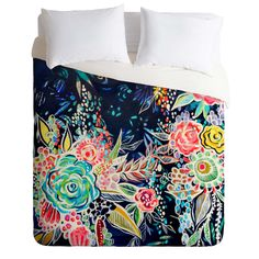 Stephanie Corfee Night Bloomers Duvet Cover | DENY Designs Home Accessories