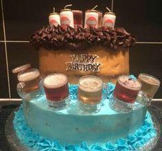 Birthday Beer, Amazing Cakes, Desserts, Food, Tailgate Desserts, Deserts, Essen, Postres, Meals