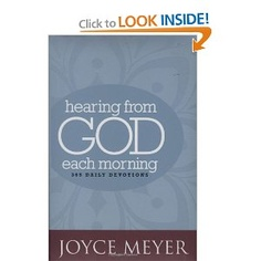 Hearing from God Each Morning by Joyce Meyer: 365 Daily Devotions (Faith Words) - great gift to start out the year!