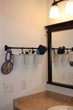 Bathroom organisation diy