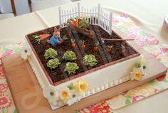 Peter Rabbit Easter cake