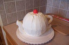 Teapot cakes - tutorial