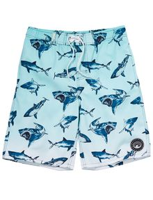 Wavetribe Shark Print Boardshort product photo