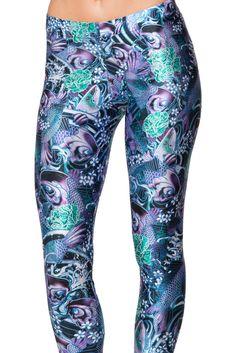 Koi Purple Leggings (WW $75AUD / US $70USD) by Black Milk Clothing