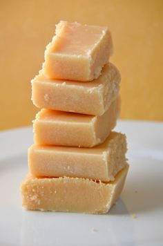 Scottish Tablet. A most addictive sugary confection. New favorite after Mossman International Fair!!!!!! ❤️