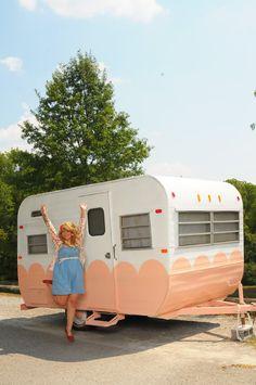 Honey Bean, the camper trailer [http://honeybeeinthecity.blogspot.com/2011/09/say-hello-to-honeybean.html]