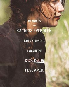Katniss Everdeen, you did and you end marrying Peeta and having two children