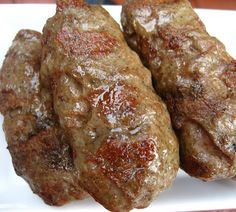 Home Cooking In Montana: Romanian Sausages.Mititei/Mici (or small ones) - Home Cooking In Montana: Romanian Sausages…Mititei/Mici (or small ones) - Homemade Sausage Recipes, Pork Recipes, Cooking Recipes, Barbecued Sausages, How To Make Sausage, Sausage Making, Home Made Sausage, Sausage Seasoning, Beef