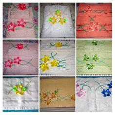 Rugs, Home Decor, Satin Flowers, Handmade Crafts, Farmhouse Rugs, Decoration Home, Room Decor, Home Interior Design, Rug