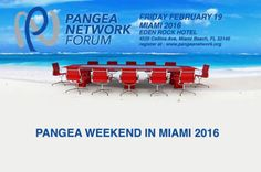 Pangea Network Forum in Miami