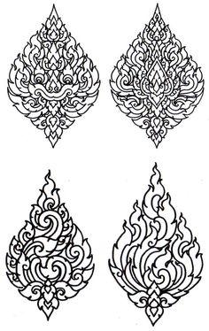 Thai Ancient Art work Culture: Phoom Kao Bint : Basic of Silpa Lai Thai