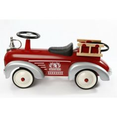 Baghera Speedster Ride on Fire Truck from The Toy Centre UK
