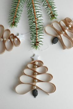 homemade essential oil diffuser christmas tree ornament