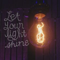 """spiritualinspiration: """"Let your light so shine before men that they may see your moral excellence and your praiseworthy, noble, and good deeds and recognize and honor and praise and glorify your Father Who is in heaven"""" (Matthew 5:16, AMP) Do the people around you see your light shining? Do they know you are a believer by your actions? Are you setting the bar in your office? Can people see your good works? I know people who can quote half the Bible and pray two hours a day, but they have no…"""