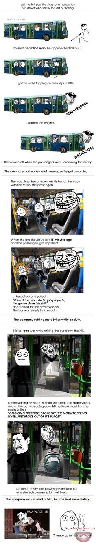 LMAO!!! Epic bus driver