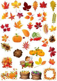 Клипарт Осень 2