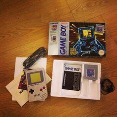 Original Game Boy in packaging