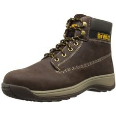 Brand: DEWALTColor: BrownFeatures:  Nubuck leather uppers with rubber outsole