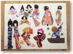 手作り和紙人形
