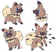 Fanart of Iwanko in pokemon