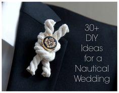 Wedding Themes: Nautical Wedding Ideas!