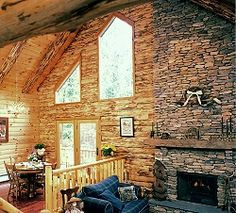 Love it! Adirondack Country Log Homes.