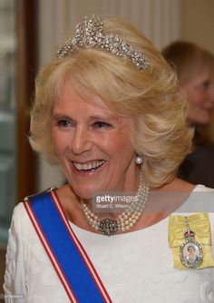 Camilla, Duchess Of Cornwall attends the Royal Academy Annual Dinner to celebrate the Summer Exhibition, opening to the public on 8 June, at Royal Academy of Arts on June 2, 2015 in London, England.  (Photo by Stuart C. Wilson/Getty Images)