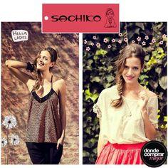 ¡En este lunes te mostramos dos remeras de SACHIKO para que nos cuentes cuál es tu favorita! ¡A nosostras nos encantan! www.dondecomprarmejor.com/sachiko