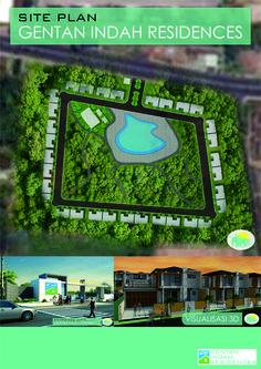 Gentan Indah Residences #HousingSitePlan