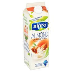 unsweetened almond milk - low fodmap