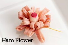 How To Make Ham Flower