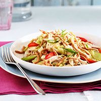Thai Salad with Chicken: http://www.familycircle.com/recipe/thai-salad-with-chicken/
