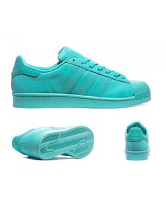 Adidas Originals Superstar Adicolor Shock Mint Trainers