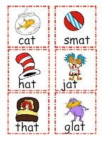 Dr. Seuss Word Sort Freebie..