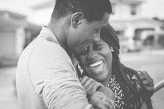 Noir Et Blanc, Personnes, Couple