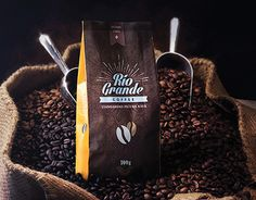 Packaging Design for Rio Grande Coffee Rio Grande, Working On Myself, New Work, Packaging Design, Behance, Coffee, Gallery, Check, Roof Rack